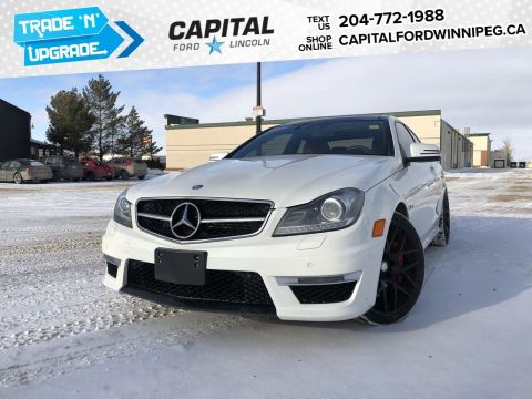 Pre-Owned 2013 Mercedes-Benz C-Class C 63 AMG